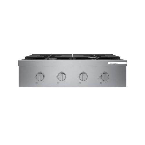 "Model: RGM8058UC | Bosch 800 Series 30"" Gas Rangetop"