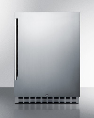 "Summit 24"" Wide Built-In Outdoor All-Refrigerator"
