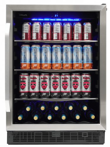 "Danby Silhouette Riccotta 24"" Single Zone Beverage Center"