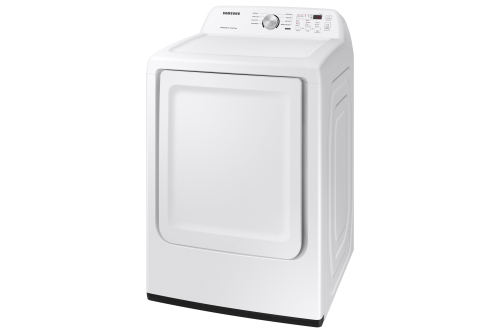 Model: DVE45T3200W | Samsung 7.2 cu. ft. Capacity Electric Dryer