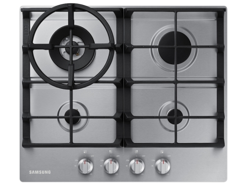 """Samsung 24"""" Gas Cooktop in Stainless Steel"""