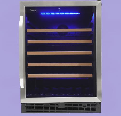 """Model: SWC057D1BSS   Danby Silhouette Stilton - 24"""" SINGLE ZONE WINE CELLAR"""