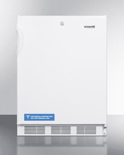 "Summit 24"" Wide All-Refrigerator, ADA Compliant"