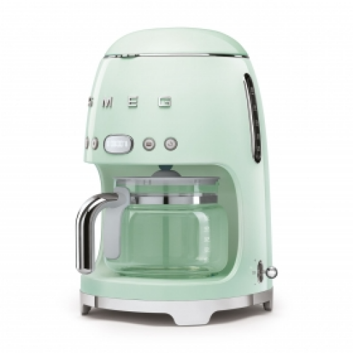 Model: DCF02PGUS | Smeg 50's Retro Style Aesthetic Drip Coffee Machine