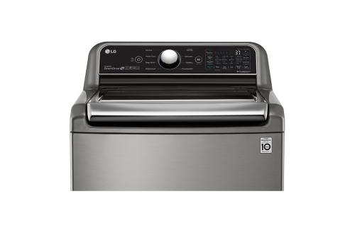 Model: WT7305CV | LG 4.8 cu. ft. Mega Capacity with Agitator Washer