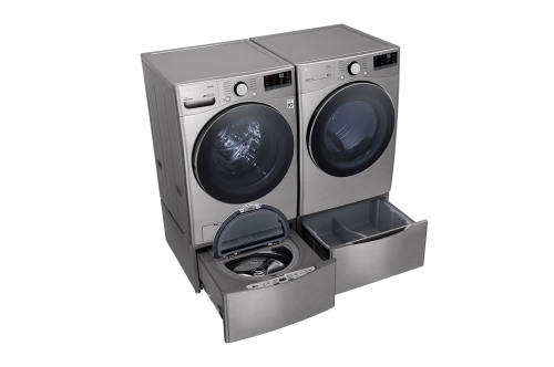 Model: DLE3600V | LG 7.4 cu. ft. Ultra Large Capacity Smart wi-fi Enabled Front Load Electric Dryer with Built-In Intelligence