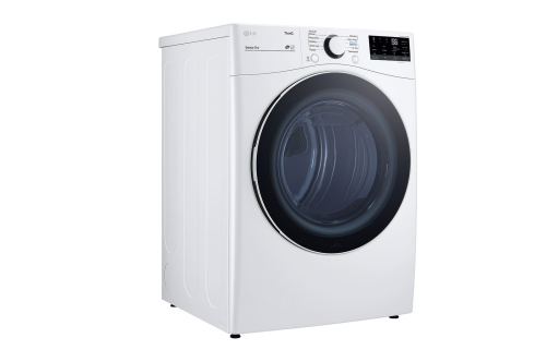Model: DLE3600W | LG 7.4 cu. ft. Front Load Electric Dryer