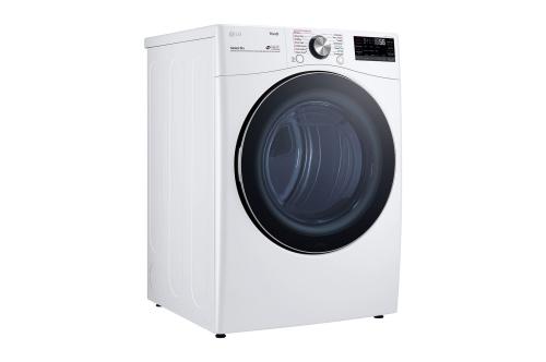 Model: DLEX4200W | LG 7.4 cu. ft.  Front Load Electric Dryer