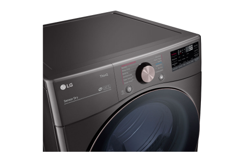 Model: DLGX4001B | LG 7.4 cu. ft. Ultra Large Capacity Front Load Gas Dryer