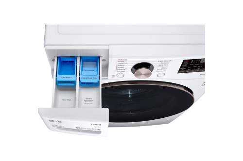 Model: WM4000HWA | LG 4.5 cu. ft. Ultra Large Capacity  Front Load Washer