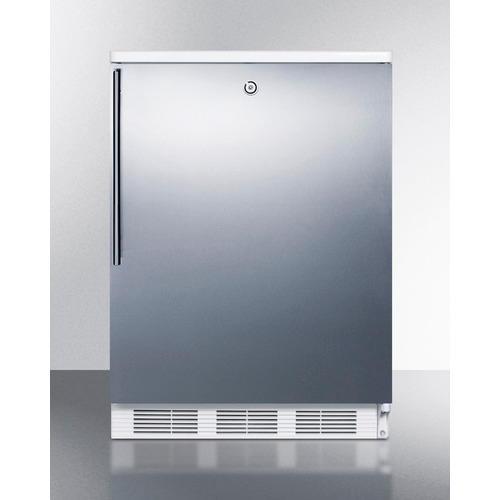 """Summit 24"""" Wide Built-In Refrigerator-Freezer"""