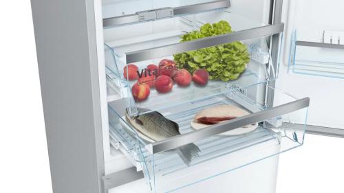 "Model: B10CB81NVW | Bosch 24"" 800 Series Free-standing refrigerator"