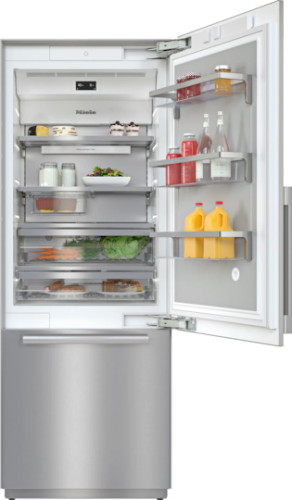 "Miele KF2901 SF R 36"" Fully Integrated Refrigerator- Right Hinge"