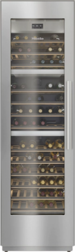 """Miele KWT2611 SF 24"""" Fully Integrated Wine Conditioning Unit - Left Hinge"""