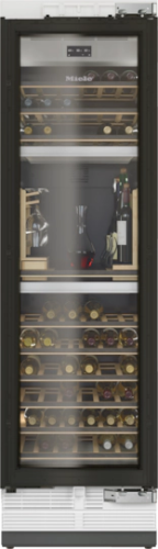 """Miele KWT2611 ViS 24"""" Fully Integrated Wine Conditioning Unit - Right Hinge"""