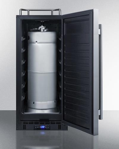 "Model: SBC15NK   Summit 15"" Wide Built-In Kegerator"