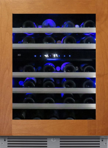 """XO Appliances 24"""" Wide 2 Zone Wine Cooler - Right Hinge"""