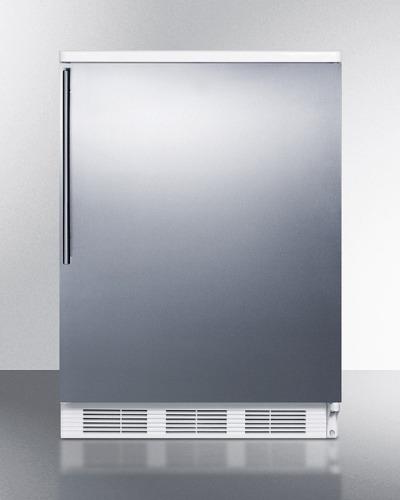 "Model: FF6WBISSHV | Summit 24"" Wide Built-In All-Refrigerator"