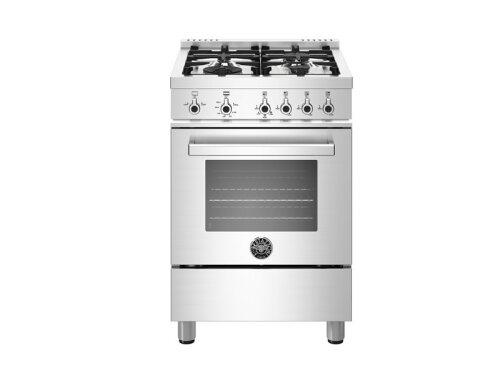 "Bertazzoni NEW!  24"" Professional Series range - Gas oven - 4 aluminum burners - LP"
