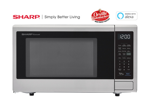 Sharp Appliances Smart Countertop Microwave Oven