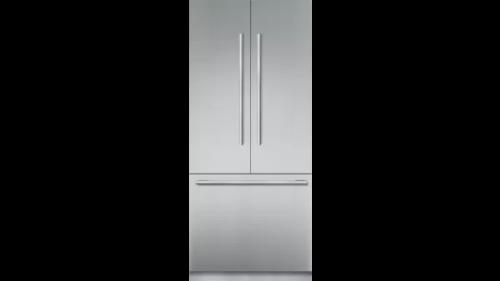 """Thermador 36"""" Wide Built in  French Door Refrigerator"""