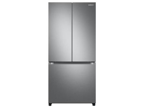 Samsung 18 cu. ft. Smart Counter Depth 3-Door French Door Refrigerator in Stainless Steel