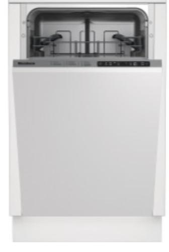 "Blomberg 18"" Slim Tub, Top Control Dishwasher"