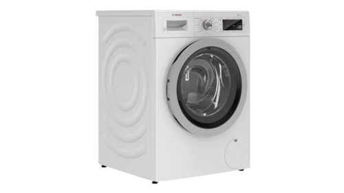 """Model: WAW285H1UC   Bosch 500 Series 24"""" Compact Washer 220 Volt"""