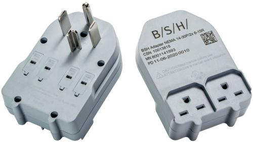 Bosch 240V Dryer Adapter