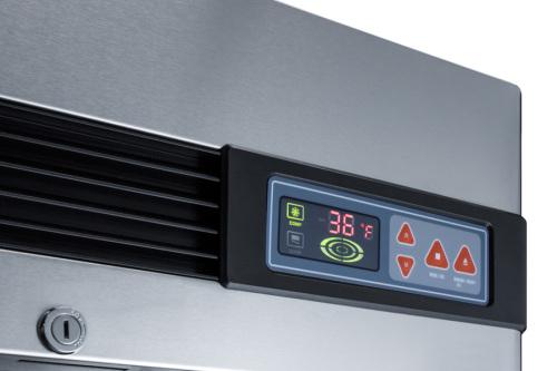 Model: SCR23SSG   Summit 23 Cu.Ft. Reach-In Refrigerator