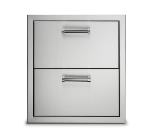 """Viking 19"""" Stainless Steel Double Drawers"""