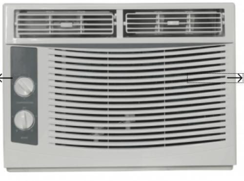 Danby 5,000 BTU Window Air Conditioner-115V