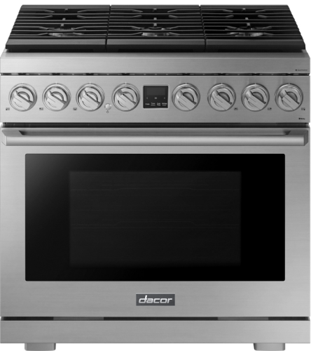 """Dacor Transitional 36"""" Duel Fuel Range- Natural Gas"""