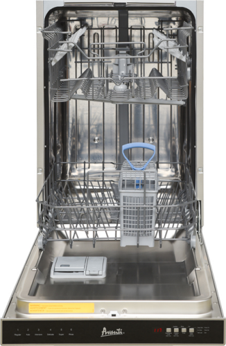 "Model: DWT18V3S | Avanti 18"" Built In Dishwasher"