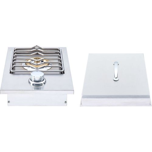 Heat Grills Single Side Burner - LP Gas