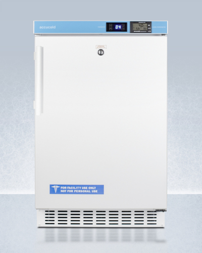 """Summit 20"""" Wide Built-In Pharmacy All-Refrigerator, ADA Compliant"""