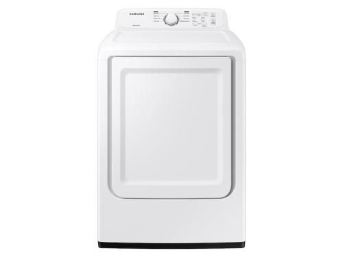 Samsung 7.2 cu. ft. Electric Dryer with Sensor Dry and 8 Drying Cycles in White
