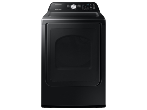 Samsung 7.4 cu. ft. Electric Dryer with Sensor Dry in Brushed Black
