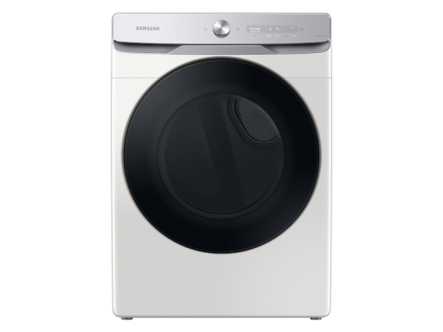 Samsung 7.5 cu. ft. Smart Dial Gas Dryer with Super Speed Dry in Ivory