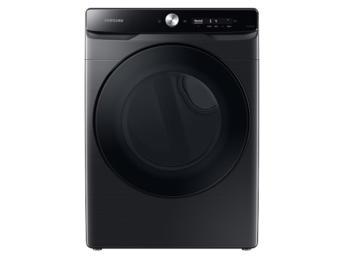 Samsung 7.5 cu. ft. Smart Dial Gas Dryer with Super Speed Dry in Brushed Black
