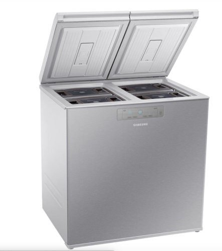 Model: RP22T31137Z   Samsung 7.6 cu. ft. Kimchi & Specialty 2-Door Chest Refrigerator in Silver