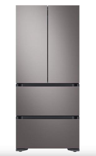 Samsung 17.3 cu. ft. Smart Kimchi & Specialty 4-Door French Door Refrigerator in Platinum Bronze