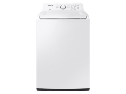 Samsung 4.0 cu. ft. Top Load Washer with ActiveWave™ Agitator and Soft-Close Lid in White