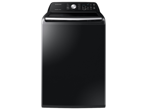 Samsung 4.5 cu. ft. Capacity Top Load Washer with Active WaterJet in Brushed Black