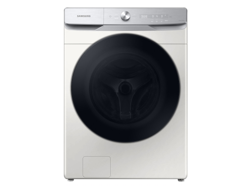 Samsung 5.0 cu. ft. Extra-Large Capacity Smart Dial Front Load Washer with CleanGuard™ in Ivory