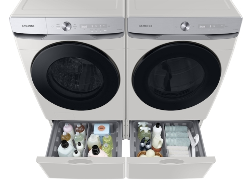 Model: WF50A8600AE   Samsung 5.0 cu. ft. Extra-Large Capacity Smart Dial Front Load Washer with CleanGuard™ in Ivory