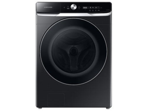 Samsung 5.0 cu. ft. Extra-Large Capacity Smart Dial Front Load Washer with OptiWash in Brushed Black