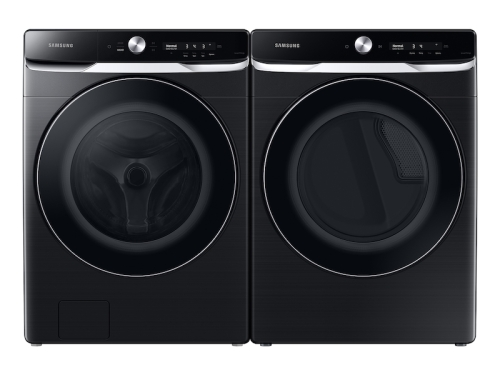 Model: WF50A8800AV | Samsung 5.0 cu. ft. Extra-Large Capacity Smart Dial Front Load Washer with OptiWash in Brushed Black