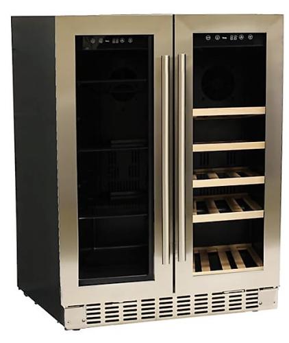 """Azure  24"""" Wide Dual Zone Beverage/Wine Center"""
