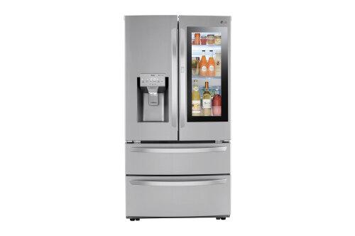 LG 28 cu ft. Smart InstaView Door-in-Door Double Freezer Refrigerator with Craft Ice